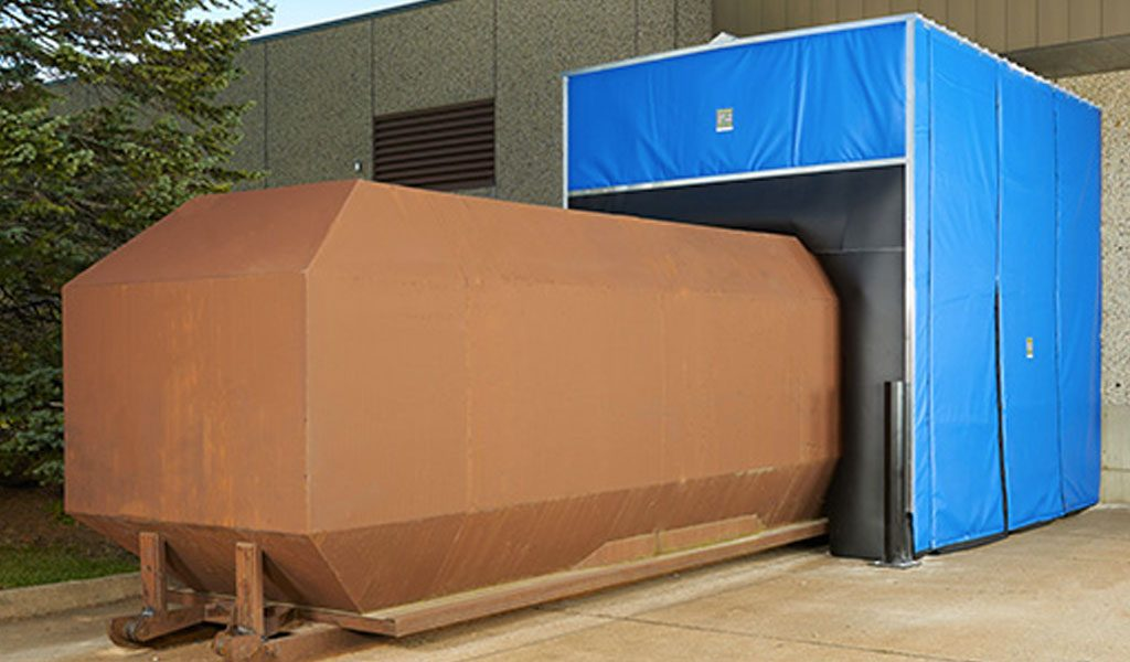 INSULATED-COMPACTOR-ENCLOSURE